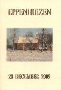 Kerkdienst boekje voorkant